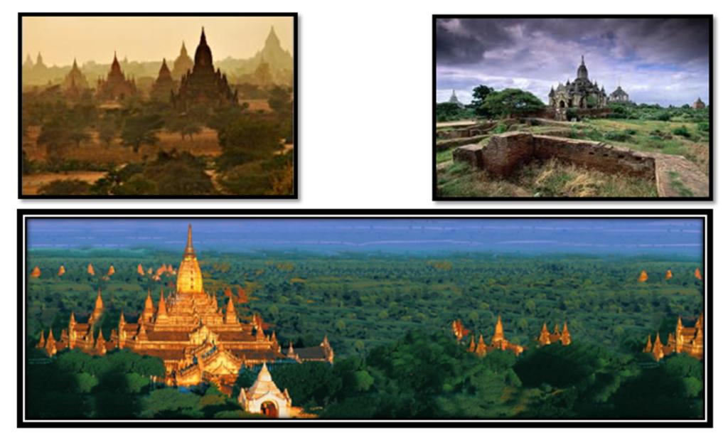 Vallée des temples de Bagan, Myanmar
