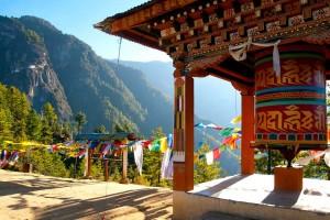 Moulin a prière, Bhoutan