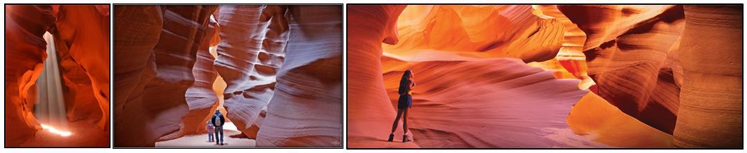 Voyageur Attitude Antelope Canyon