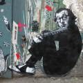 woody allen street art