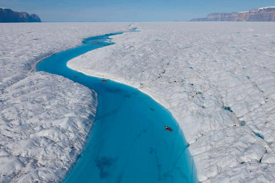 Blue River, Groenland