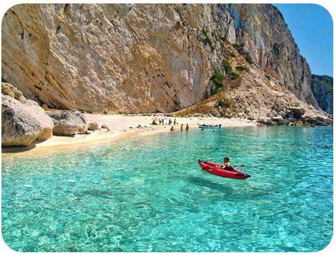 Ile Othoni, Grèce