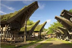Maisons Pays Toraja