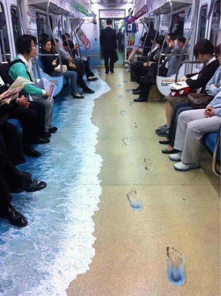 Petit tour en métro, à Hong Kong