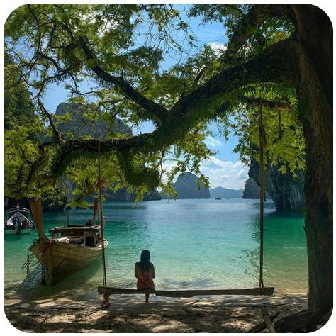 Voyageur Attitude Krabi Thailande