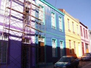 Voyageur Attitude  rue Valparaiso
