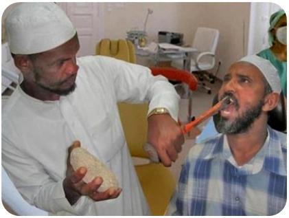 voyageur attitude  dentiste