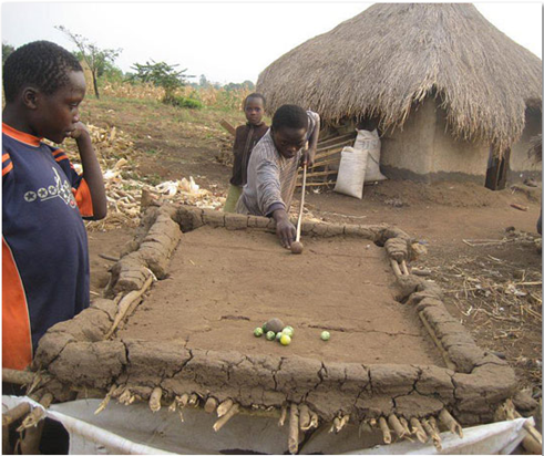 Billard à l'africaine