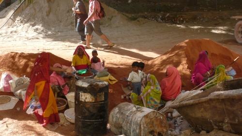 Femmes en Inde Voyageur Attitude