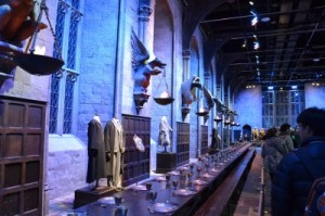 Harry Potter studios    voyageur attitude