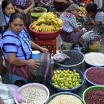 marché au Guatemala