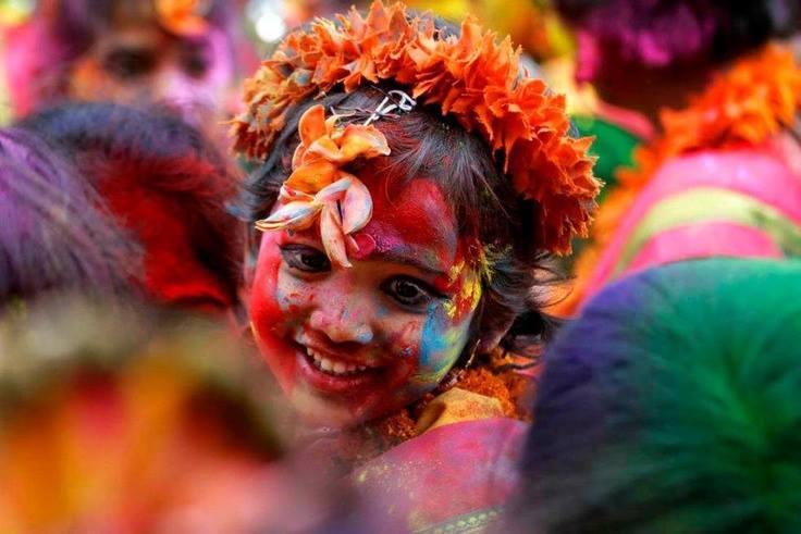 fete des couleurs inde