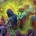 Holy festival Inde