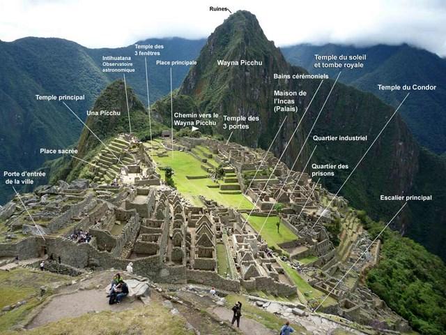 plan Machu Picchu
