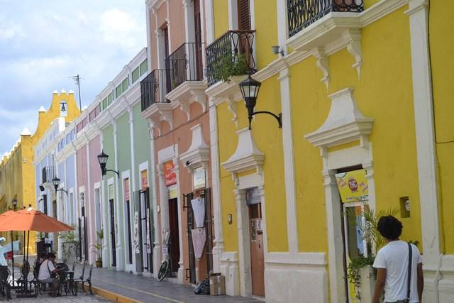 maisons campeche mexique