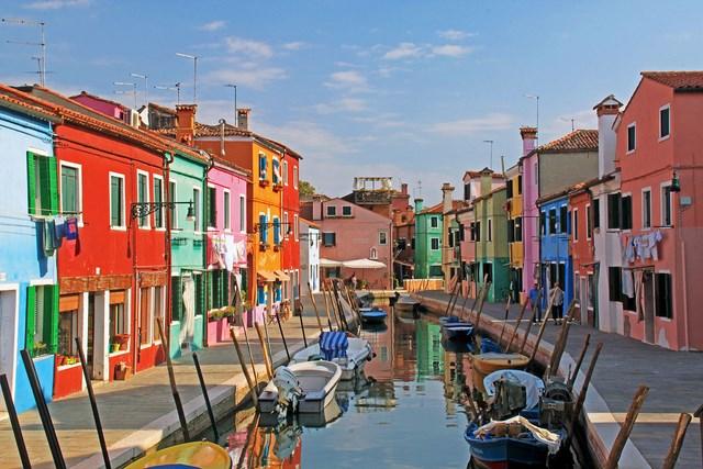 Photos des villes les plus color es Color hotel italy