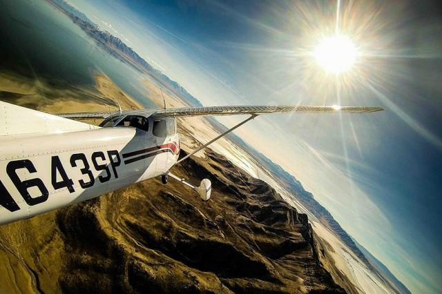GoPro avion