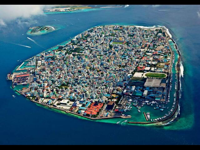 Photo aerienne Maldives