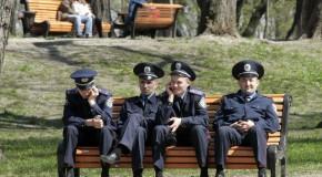 Des menottes en Ukraine