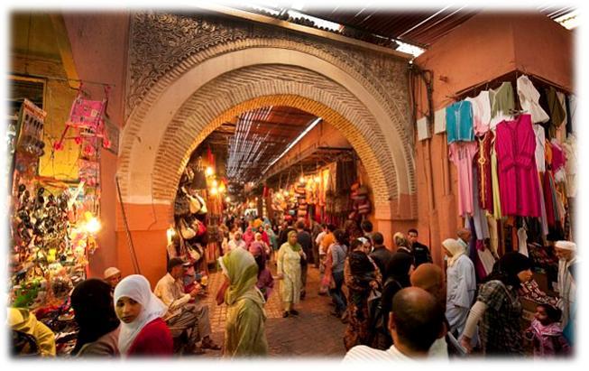 souk marrakech blog voyage