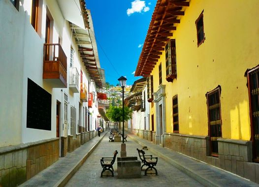streets of Cajamarca