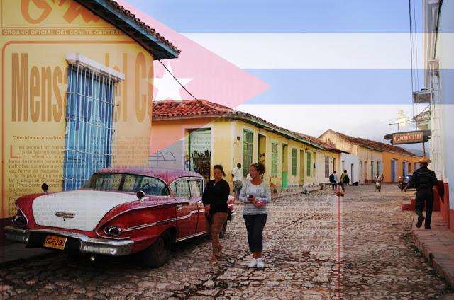 photo cuba drapeau