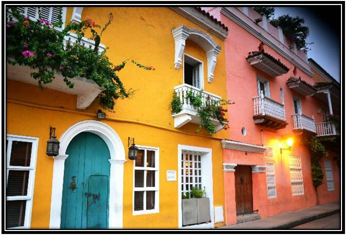 rue carthagene colombie
