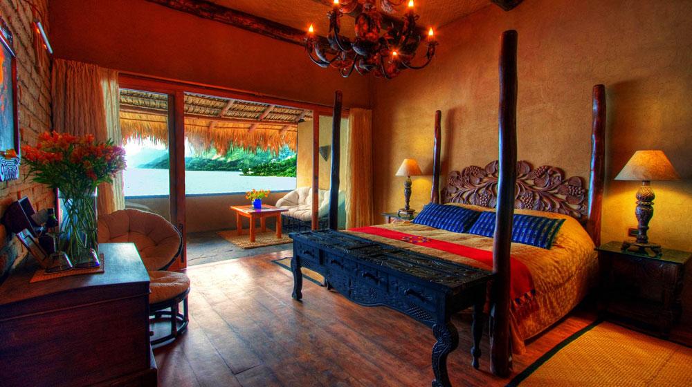 Laguna Lodge Guatemala chambre