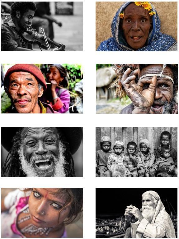 portraits voyage