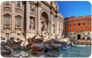 fontaine mythique rome blog