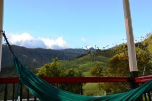 Finca : hamac, montagne et palmiers