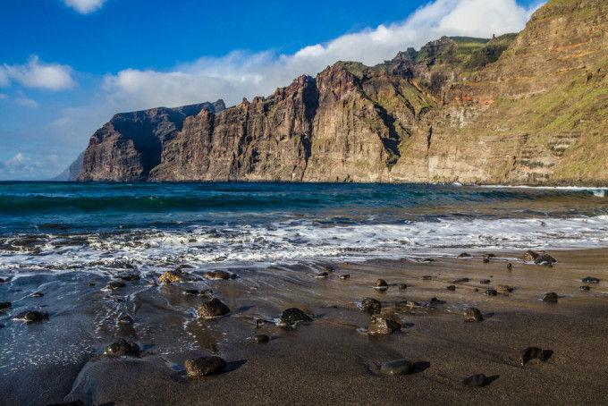 Playa-de-los-Gigantes Tenerife