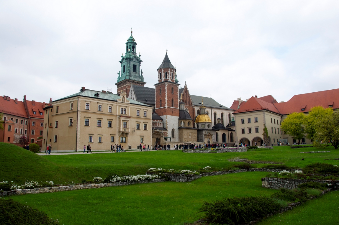Cracovie - Chateau de Wawel
