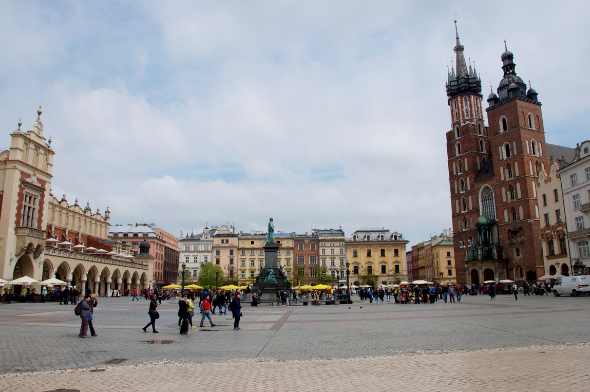 Cracovie - Place Rynek