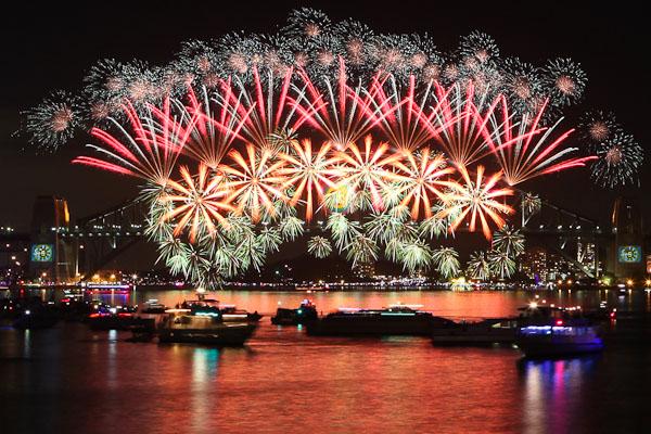 Meilleures villes pour feter le nouvel an