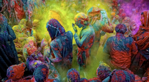 Festival Holi en Inde