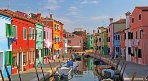 Burano, l'île des couleurs