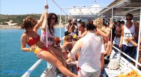 Une île pour la plage et la fête