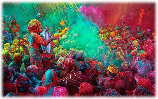 Le Festival des couleurs en Inde !